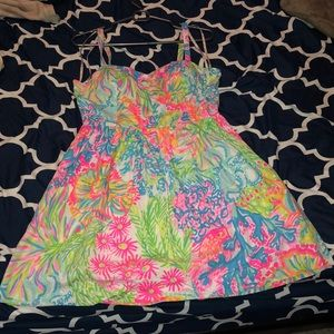 VGUC Ardleigh Dress Lovers Coral Lilly Pulitzer